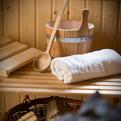 Unsere Sauna
